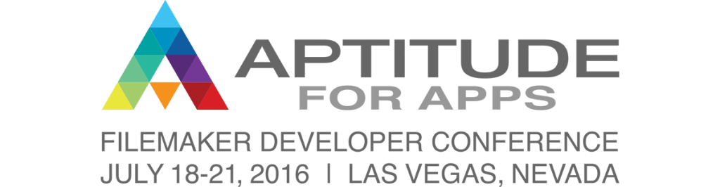 FileMaker Devcon Aptitude For Apps