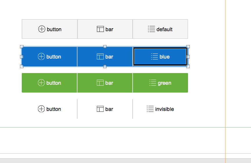 FileMaker Button Bars