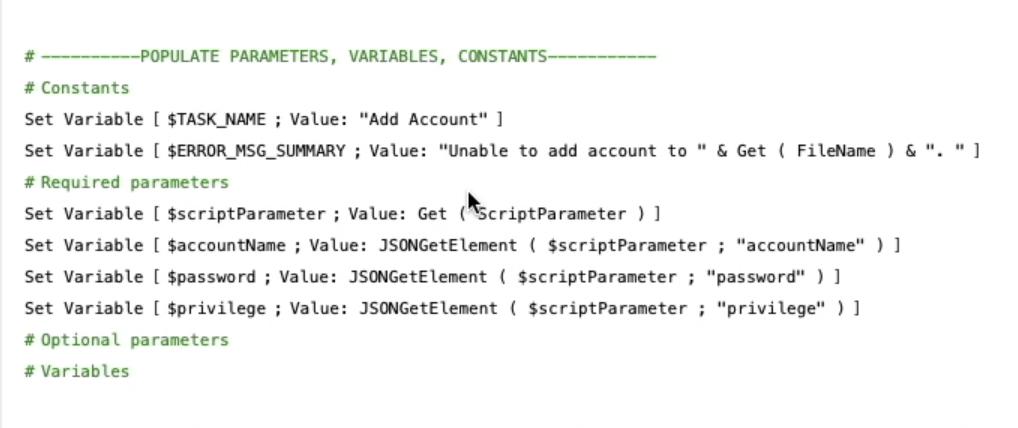 FileMaker subscript
